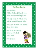 Tattling Turtle for Pre-K, K, 1st, 2nd, or 3rd