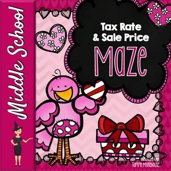 Tax Rate & Sale Price - A Valentine's Maze