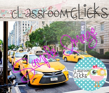 Taxis on a Busy Street Image_192:Hi Res Images for Blogger