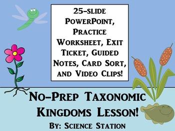 Taxonomy - Kingdoms