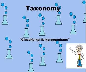 Taxonomy PowerPoint and Activities