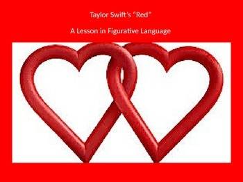 "Taylor Swift's ""Red"" - A Lesson in Figurative Language"