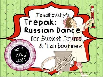 Tchaikovsky's Trepak: Russian Dance - An activity for Buck