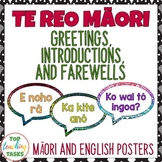Te Reo Māori Greetings, Introductions and Farewells Classr