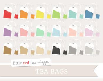 Tea Bag Clipart