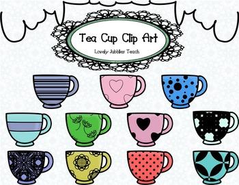 Tea Cup/ Cup/ Mug Clip Art