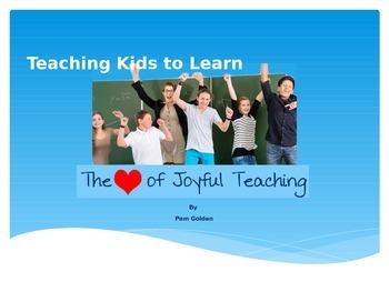 Teach Kids to Learn