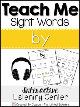 Teach Me Sight Words: BY [Interactive Center with Printabl
