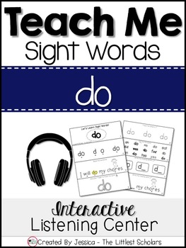 Teach Me Sight Words: DO [Interactive Center with Printabl
