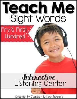 Teach Me Sight Words: Fry's First 100 BUNDLE Part 1 of 4 [