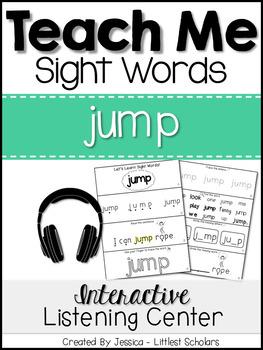 Teach Me Sight Words: JUMP [Interactive Center with Printa