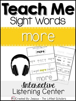Teach Me Sight Words: MORE [Interactive Center with Printa