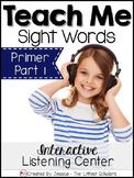 Teach Me Sight Words: Primer BUNDLE Part 1 of 2 [Printable