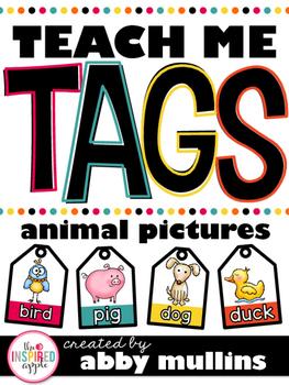 Teach Me Tags: Animals