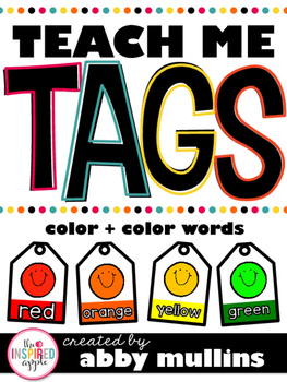 Teach Me Tags: Colors