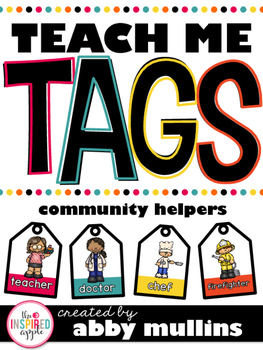 Teach Me Tags: Community Helpers