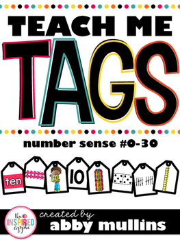 Teach Me Tags: Numbers 0-30