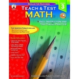 Teach & Test Math - Grade 3