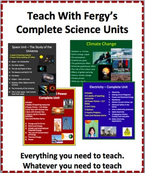 Teach With Fergy's Complete Units