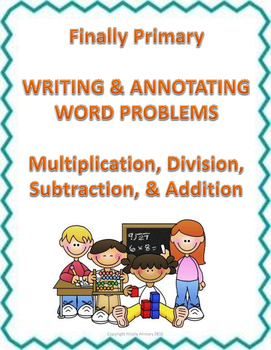 Teach and Reinforce Word Problems with Writing, Test Revie