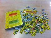 Teach students about writing essays using a jigsaw puzzle