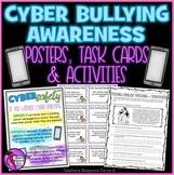 Cyber Bullying Awareness: Digital Citizenship (Posters, Ta