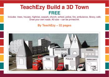 TeachEzy Build a 3D Town