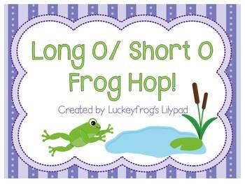 Frog Hop Long O/ Short O Unit (oa, ow, o_e, short o)