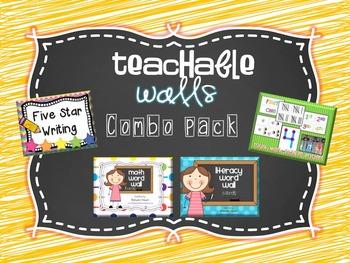 Teachable Walls Combo Pack