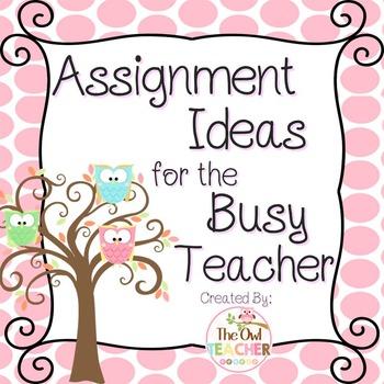 FREE Teacher Ideas