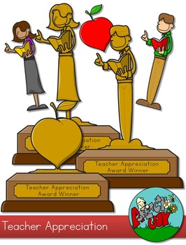 Teacher Appreciation Award Clip art