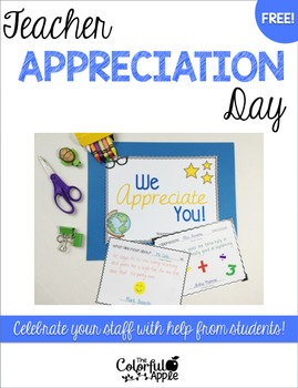 FREE Teacher Appreciation Day