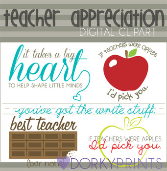 Teacher Appreciation Clipart
