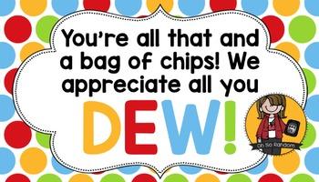 Teacher Appreciation Tag   Dew