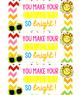 Teacher Appreciation Week Tags