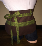 Teacher Apron {Brown}