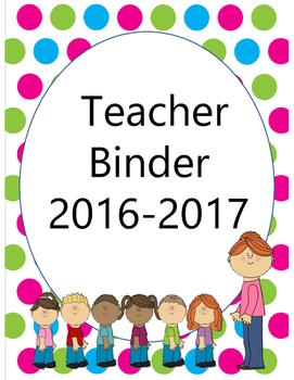 Teacher Binder {2016-2017}