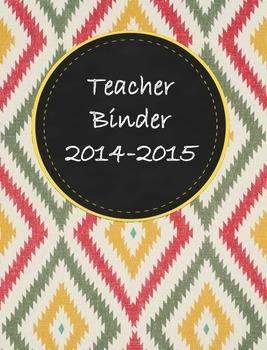 Teacher Binder 2015-2016 Aztec 1