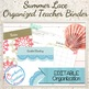 Teacher Binder: Summer Lace Design