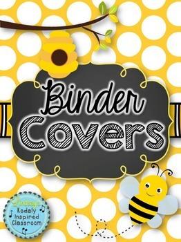 Teacher Binder {Bee Themed}