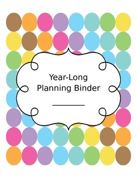 Teacher Binder Cover Set