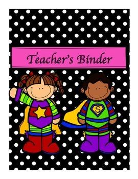 Teacher Binder Covers