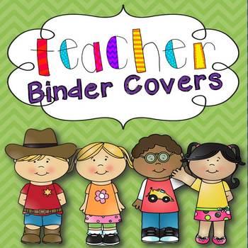 Teacher Binder Covers (Happy Kids)