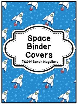 Teacher Binder Covers: Space