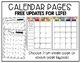 Teacher Binder: EDITABLE Planner - Chalkboard & Burlap - F