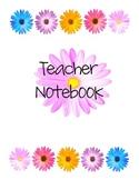 Teacher Binder Flowers