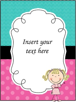 "Teacher Binder ""Insert Pages"" (editable freebie!)"