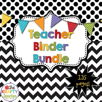 Teacher Binder Planner