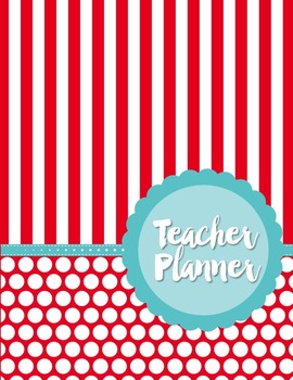 Teacher Binder and Planner Editable :: Free Updates (Carnival)