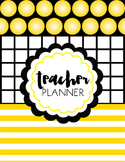 Teacher Binder and Planner Editable :: Free Updates (Hollywood)